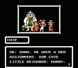 Chip 'N Dale: Rescue Rangers NES The Team, The Story