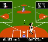 Bad News Baseball NES Pitching to batter