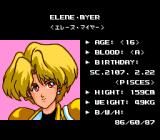 Lady Phantom TurboGrafx CD Character info