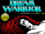 Dream Warrior ZX Spectrum This screen displays as the game loads