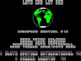 Ian Fleming's James Bond 007 in Live and Let Die: The Computer Game ZX Spectrum The controls can be redefined but that's as much as the main menu is good for