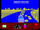 Ian Fleming's James Bond 007 in Live and Let Die: The Computer Game ZX Spectrum A mine-laying boat that seems impervious to mortar fire