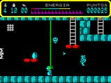 Thor ZX Spectrum No thunderbolts left. Thor should be able to climb the rope but I could not get him to do that. Eventually he was killed by one of the floating, bouncing balls that homed in on him