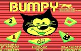 Bumpy DOS Title screen