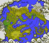 Travelers! Densetsu o Buttobase TurboGrafx CD Viewing the world map