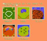 Dusty Diamond's All-Star Softball NES Field Select