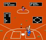 Dusty Diamond's All-Star Softball NES At bat