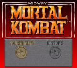 Mortal Kombat SNES Title Screen