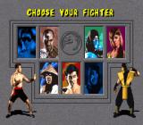 Mortal Kombat SNES Choose Your Fighter
