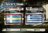 FIFA Street 2 PlayStation 2 Choosing a team.