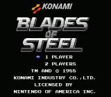 Blades of Steel NES Title Screen