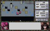 Branmarker 2 PC-98 High-level party in a complex castle dungeon