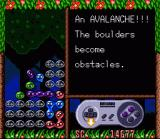 Kirby's Avalanche SNES Demo with instructions on how to play the game