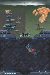 Tom Clancy's EndWar Nintendo DS Tanks vs infantry can only end in one way...