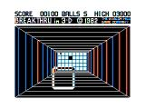 3-D Brickaway TRS-80 CoCo At first brick strike color changes
