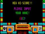 Hellfire Attack ZX Spectrum Hi-score post your initials