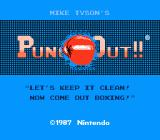 Mike Tyson's Punch-Out!! NES Title Screen #2