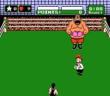 Mike Tyson's Punch-Out!! NES King Hippo intimidates