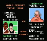 Mike Tyson's Punch-Out!! NES Super Macho Man - Intro