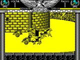 Coliseum ZX Spectrum ... which means that the opponent can avoid the obstacle at the last minute