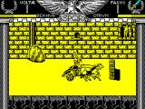 Coliseum ZX Spectrum This guy has a sword. Its a more powerful weapon and I want it. He'll run me into the wall before I can get it though
