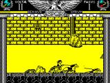 Coliseum ZX Spectrum My turn to run an opponent into an obstacle. Shame they had the same weapon, a battle axe, so no advantage gained
