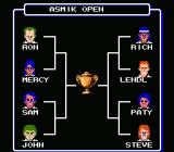 Top Players' Tennis NES Tournament Bracket