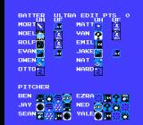 Baseball Simulator 1.000 NES Make-a-team