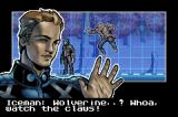 X-Men: The Official Game Game Boy Advance Meeting Iceman