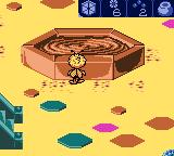 Maya the Bee: Garden Adventures Game Boy Color After having been given permission by the queen, Maya can finally take some honey.