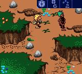 Maya the Bee: Garden Adventures Game Boy Color This ant won't let us pass.