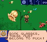 Maya the Bee: Garden Adventures Game Boy Color Found some glasses