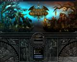 Heroes of Newerth Linux Log-in screen