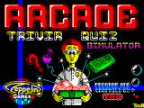 Arcade Trivia Quiz ZX Spectrum This game displays as the game loads