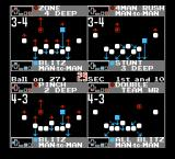 NES Play Action Football NES Select a defense