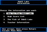 Odell Lake Apple II Information