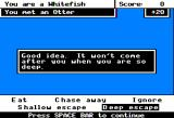 Odell Lake Apple II Deep escape from Otter