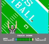 NES Play Action Football NES Ref signals a touch down