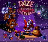 Daze Before Christmas SNES Title screen