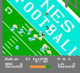 NES Play Action Football NES Kicking a field goal