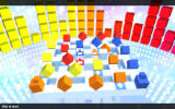 Rubik's Puzzle Galaxy: RUSH Windows It's like a military parade