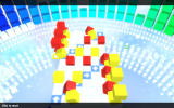 Rubik's Puzzle Galaxy: RUSH Windows One of the levels in the medium mode (locked initially)