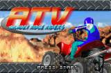 ATV: Thunder Ridge Riders Game Boy Advance Title screen.