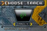 ATV: Thunder Ridge Riders Game Boy Advance Course selection.