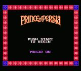 Prince of Persia NES Title Screen #2