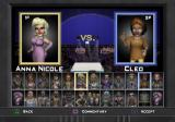 MTV Celebrity Deathmatch PlayStation 2 Fighter selection.