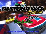 Daytona USA Deluxe Windows Title screen
