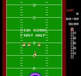 10-Yard Fight NES Starting out by playing high school football