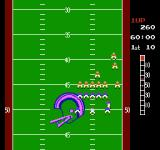 10-Yard Fight NES Lining up at the line of scrimmage