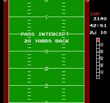 10-Yard Fight NES An intercepted pass sends the offense 20 yards back
